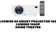 Alfawise A8 Smart Projector 1800 Lumens 1080P Home Theater