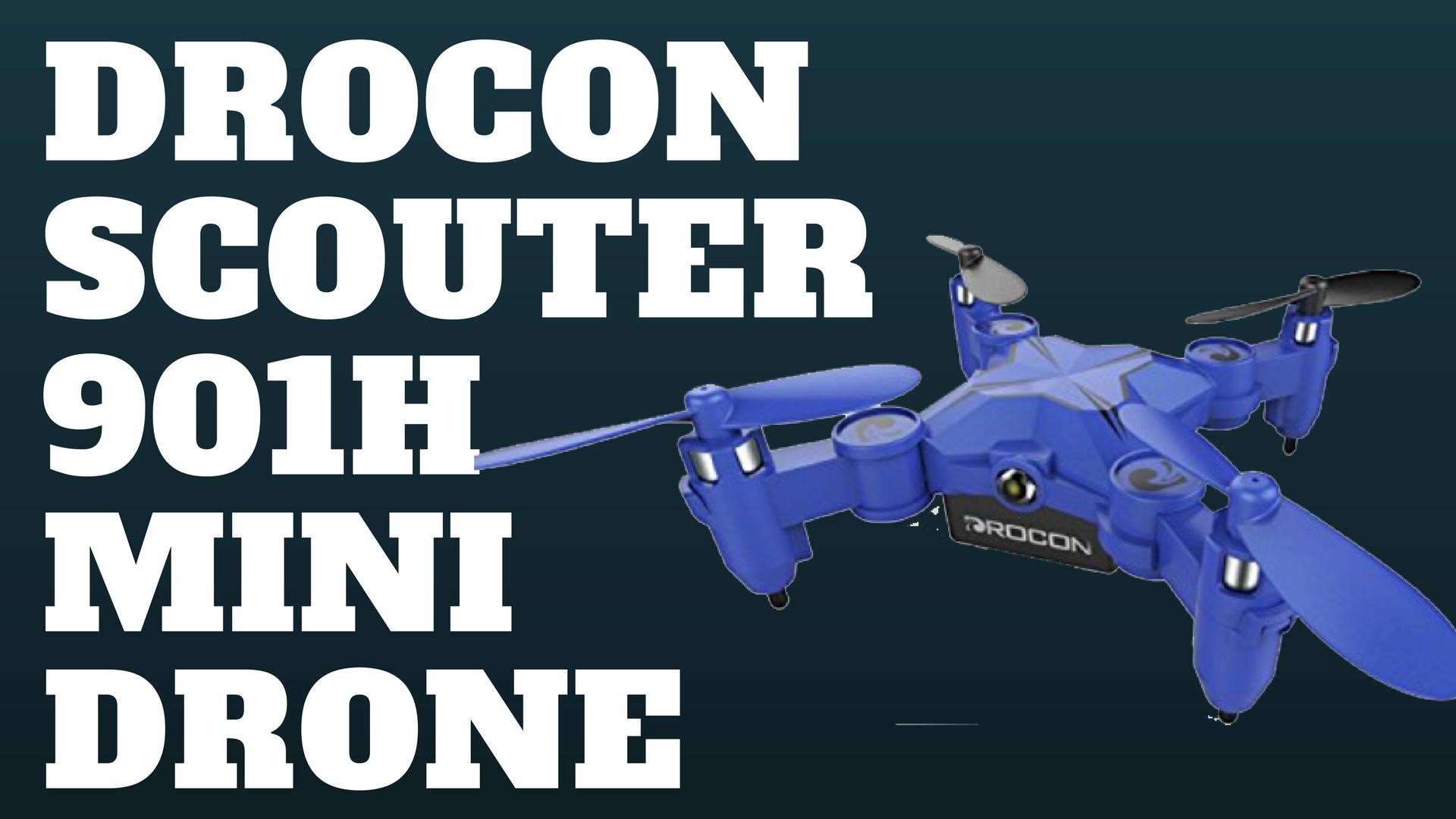 Dual Dash Cam >> Drocon Scouter 901H Mini Drone