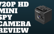 720P HD Mini Spy Camera Review