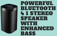 Powerful Bluetooth 4 1 Stereo Speaker with Enhanced Bass