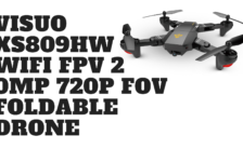VISUO XS809HW Wifi FPV 2 0MP 720P FOV Foldable Drone