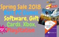Spring Sale 2018 | Best PC Games, Software, Gift Cards, Xbox, PlayStation