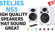 Steljes NS3 - High Quality Speakers That Sound Great