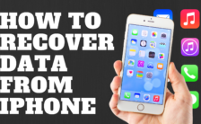 How to Recover Data From iPhone