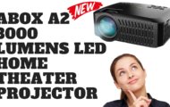 ABOX A2 3000 Lumens LED Home Theater Projector