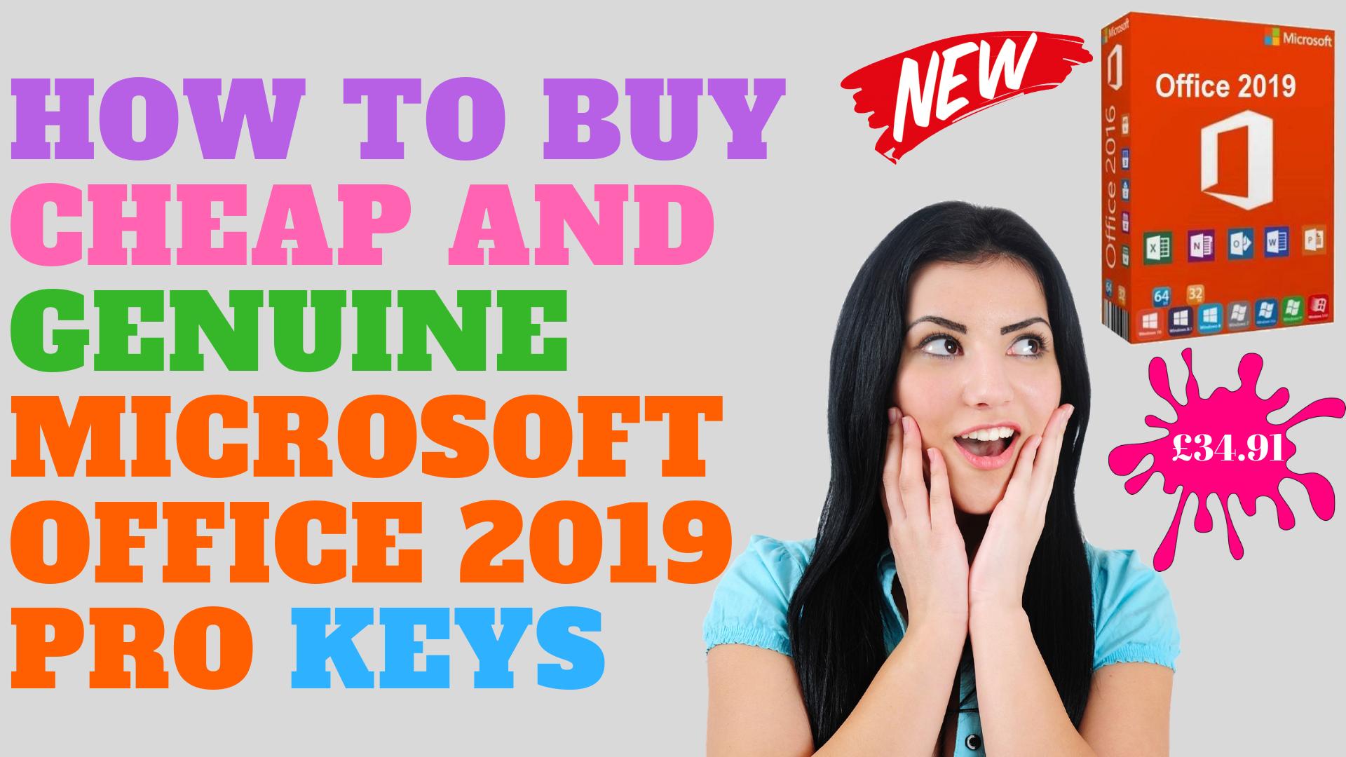 Buy cheap Outlook 2019