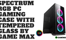 Spectrum RGB PC Gaming Case with Tempered Glass by Game Max