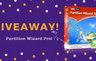 Giveaway - Minitool Partition Wizard Pro - 50 Licences