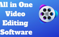 All in One Video Editing Software