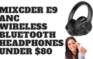 MIXCDER E9 ANC Wireless Bluetooth Headphones - UNDER $80