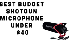 Best Budget Shotgun Microphone Under $40