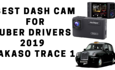 Best Dash Cam For Uber Drivers 2019 AKASO Trace 1