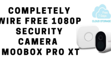 Completely Wire Free 1080P Security Camera - Moobox Pro XT
