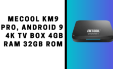 MECOOL KM9 Pro, Android 9.0 4K TV Box 4GB RAM 32GB ROM