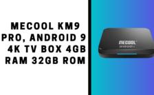 MECOOL KM9 Pro, Android 9.0 4K TV Box 4GB RAM 32GB ROM