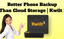 Better Phone Backup Than Cloud Storage | Kwilt 3