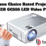 Amazon Choice Rated Projector BOMAKER GC555 LED Video Projector