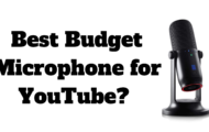 Best Budget Microphone for YouTube 2019