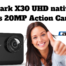 Campark X30 UHD native 4K 60fps 20MP Action Camera