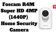Foscam R4M Super HD 4MP (1440P) Home Security Camera