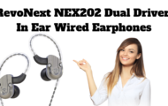 RevoNext NEX202 Dual Driver In Ear Wired Earphones