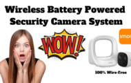 Imou Wireless Battery Powered Security Camera System