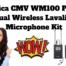 Comica CMV WM100 PLUS - Dual Wireless Lavalier Microphone Kit