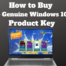 How to Buy Cheap Genuine Windows 10 Pro Product Key