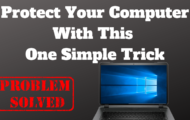 Protect Your Computer With This One Simple Trick