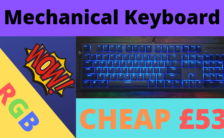 CHEAP OPTICAL RGB Mechanical Keyboard Motospeed CK80 - BZfuture