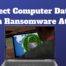 Protect Computer Data From Ransomware Attack