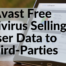 Avast Free Antivirus Selling User Data to Third-Parties
