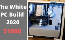 The White PC Build 2020