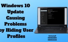 Windows 10 Update Causing Problems by Hiding User Profiles