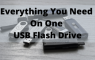 Everything You Need On One USB Flash Drive