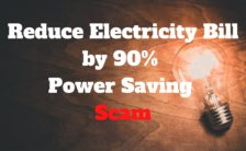 Reduce Electricity Bill Power Saving Scam