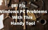 Fix Windows Problems With This Handy Tool