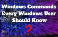 Windows Commands Every Windows User Should Know