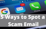 5 Ways to Spot a Scam Email