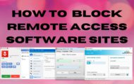 How to Block Remote Access Software Sites