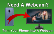 How to Turn Your Phone Into a Webcam