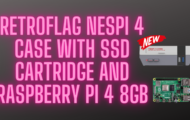 RetroFlag NesPi 4 Case with SSD Cartridge and Raspberry Pi 4 8GB