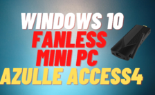 Windows 10 Fanless Mini PC Stick _ AZULLE Access4