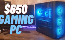 $650 Gaming PC Build 2020 - Ryzen 3100 + RX 580 with Benchmarks