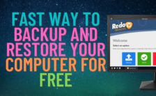 Fast Way to Backup And Restore Your Computer For FREE