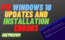Fix Windows 10 Updates and Installation Errors