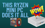 This Ryzen Mini PC DOES IT ALL