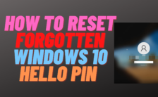 How to Reset Forgotten Windows 10 PIN Code