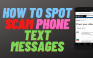 How to Spot Scam Phone Text Messages
