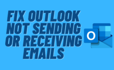 Fix Outlook Not Sending or Receiving Emails